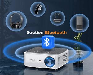 Le vidéoprojecteur Wifi Bluetooth Yaber V6